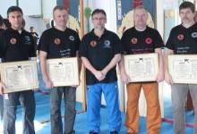 Átadták az EKA kyusho jitsu dandiplomáit