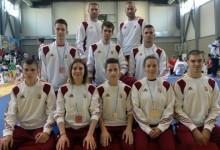 Tarolt a magyar válogatott a III. Wushu Európa-bajnokságon