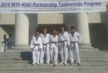 Taekwon-dós szakmai út Koreában